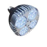 2021 고품질 LED PAR30 E27 전구 35W (3000LM) 스포트 라이트 24 학위 Sunon Noise 팬 안정적인 드라이버