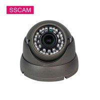 Ahd-Kuppel-Sicherheitskamera High Definition 2.8-12mm Vari-Fokus-Objektiv Videoüberwachung Analog CCTV 30M Nachtsicht-IP-Kameras
