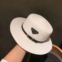 Brand di lusso piatta piatta cappello di paglia, estate, autunno e inverno Four Seasons Big Brim Sun Visor British Fashion British Hat Cappello Tide Brand