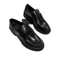Mujeres Vestido Boda Partido Zapato de alta calidad Causuras de cuero Plataforma Sandalia Moda Negocio Formal Loafer Social CHUNKY zapatos