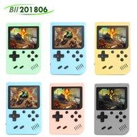 هدية المعكرونة الرجعية وحدة التحكم فيديو لعبة ألعاب يده اللاعبين 8 بت 3.0 بوصة شاشة LCD لون 800/500 في 1 الألعاب