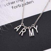 Yutong Kpop Jewelry Jewelry Army Letter Collana per donna in lega di lettere collana di moda party accessori regalo ragazza BTS-1149