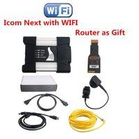 진단 도구 BBMW A2 A + B + B 전문 자동차 도구 DHL 용 Wi-Fi 및 라우터 다음으로 고품질 슈퍼 Icom
