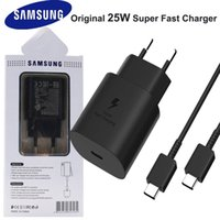 Samsung Galaxy S21 Anmerkung 20 10 Ultra S20 A70S 25W EU-Stecker PD Fast Ladet Tragbares Ladegerät USB C Schnellladeadapter Cargador