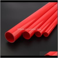 Watering Equipments Supplies Patio, Lawn Garden Home & Garden2Pcs 50Cm Odotd 20~50Mm Red Upvc Hi-Quality Supply Pipe Irrigation Fish Tank Pv