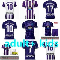 2021 2022 Jerseys de futebol reais Valladolid 21 21 22 Fede S. R. Alcaraz Oo Sergi Guardiola Oscar Plano Camisetas de Futbol Homens Kit Kit Football Shirts