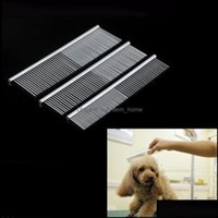 Supplies Home & Garden Grooming Asymmetric Stainless Steel Pet Hair Trimmer Comb Dog Cat Cleaning Brush Drop Delivery 2021 Oxkaj