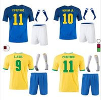 Marcelo Neres COUTINHO NEYMAR JR # 10 Fussball Jersey Set 2021 2022 Camiseta de Futebol G.jesus firmino 21 22 Home Away Football Shirt Männer + Kinder Kit + Socke Uniformen
