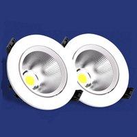 Downlights LED Downlight 3W 5W 7W 9W 12W 15W 18W 라운드 Recessed 램프 220V 230V 240V 110V 전구 침실 주방 실내 스포트 조명