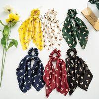 Flower Headband Satin Soft Kawaii Accessories Fall Silk Scrunchie Hair Bandeau Headbands For Women Accesorios Tiara Fashion Band1