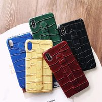 Cell Phone Cases Crocodile Pattern Wristband For Apple iphone 12promax 11 xs Accessories Protector