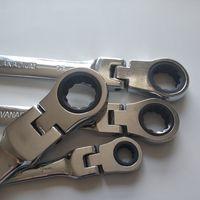 6-24mm Aktivitäten Ratsche Gängen Schraubenschlüssel Set Flexible offene Endschlüssel Reparaturwerkzeuge zum Fahrraddrehmomentschlüssel-Schraubenschlüssel 544 S2