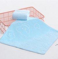 NEUE25 * 25 cm Haushalt Mikrofaser Absorbierende Gesicht Wäsche Handtuch Säuglings-Verdickung Geprägte Cartoon Bär gedruckt Kinderhandtücher ZZB8751