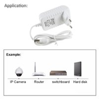 Strips DC 12V 1A 2A 3A White Switching Power Supply 5.5*2.5mm For AC Converter Adapter EU US Plug Wall Charger Transformer AC100-240V