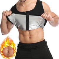 Shapewear Men Waist Trainer Vest Thermo Sauna Suits Sweat Tank Tops Body Shaper Slimming Underwear Compression Workout Corset