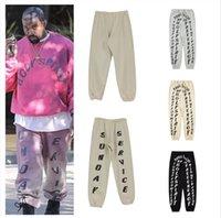 Kanye West Plus Velvet Lettera di Velvet Lettera di stampa Pantaloni Pantaloni Jeans Uomo Moda europea e americana di grandi dimensioni Capris Casual Casual Handsome Wear Coppia Pant