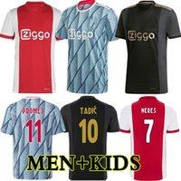 كرة القدم جيرسي أمستردام 2021 كودوس أنتوني الأعمى البروسيات تاديك نيريس كرويف 20 21 الرجال + أطفال كيت كرة القدم قميص الزي الثالث Ajax Ajax