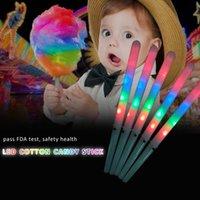 Led Marshmallow Glow Party Concert Christmas Bambini luminosi luminosi Bambino Colorato Colorato Colore Cambiare Plastica Lampeggiante Club Brillante Afilato Props