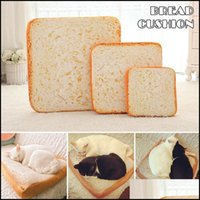Cat Supplies Home Gardencat Beds & Furniture Ly Bread Cats Bed Toast Slice Style Pet Mats Cushion Soft Warm Mattress For Dogs Xsd88 Drop Del
