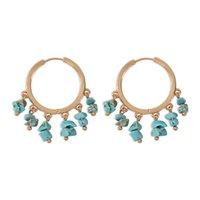 Turquoise Charm BohemianTassel Earrings Women's Earring Jewelry Ear ring E8812