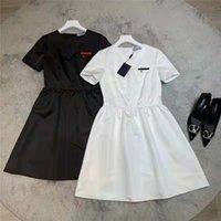 Frühling Sommer Damen Wear Designer Casual Kleid, hochwertiger runder Hals, Straßenmode, eng anliegende und bequeme Dame Kleidung