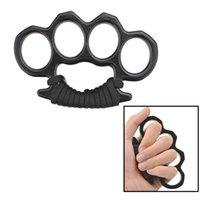 Spades Knuckle Dusters Metal Liga Bronze Bundos Defesa Ferramenta de Defesa Pessoal Equipamento de Segurança Pessoas Folas de Ferro Luvas 62 x2