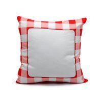 Caso de travesseiro de sublimação em branco 40 * 40 cm Grade transferência de calor tiro capa de almofada 3 cores Home sofá fronhas CCA12673 200pcs