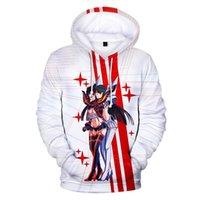 Mode -zelling 3D Hoodie Kill la Männer Frauen Sweatshirts Lustige Anime Polyester Tops Unisex Cartoon Kleidung Männer Hoodies