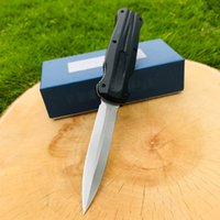 Couteau automatique de papillon 3320 D2 Acier EDC Poche BM42 Équipement de plein air tactique Tactique Vie avec gaine 3300 3