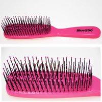 Hair Brushes Scalp Massage Comb Hairdressing Hairdresser Women Men Nylon Wet Detangle Curly Brush Salon Styling