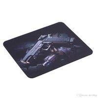 새로운 총 그림 안티 슬립 노트북 PC 게임 마우스 패드 매트 마우스 패드 광학 레이저 마우스 도매