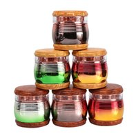 Colorful Rainbow Resin Portable Metal Grinder For Smoking Herb Tobacco Crusher Hand Muller Cigarette Accessories With 4 Layers DHL Shippment