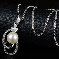 Fahsion Simulated-Pear Jewelry Set Collar Pendientes Dos PC por SET MEJOR VENDIDO AFRICANA AFRICANAS JOYERO PARURURA BIJOUX FEMME 911 Q2