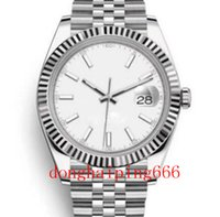 U1 Factory ST9 Blue Roman Dial Watch Fluted Bezel Datejust Automatic Movement 41MM Men Watches Stainless Steel Mens 126333 Wristwatches