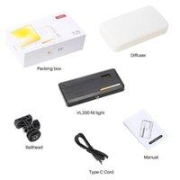 VL200 Dimmable Mini LED Video Light on Camera DSLR Fill Light 180 LED Photographic Lighting Lamp for Selfie Canon