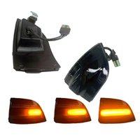 Luz de señal de giro del espejo retrovisor para Focus 2 Pre-Facelift 2004 2005 2006 20072008 Luces de marcador lateral dinámico Amber LED Emergencia