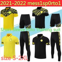 2021 Borus Polo Tracksuit Dortmund Chandal Futbol 20/21 Survêtement de Football 훈련