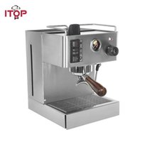 Máquina semi-automática da máquina de café do café de 1050W 3.5L Totalmente de aço inoxidável de aço inoxidável fabricantes de espuma de leite italiano