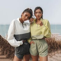 Women's Tracksuits Spring Summer Tracksuit Suit 2 Pieces Set Sports Long Sleeve Pullover Blouse And Casual Shorts Running Female Y2k