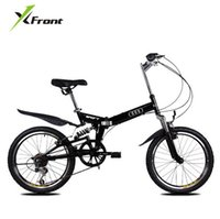 X-Front 브랜드 20 인치 알루미늄 합금 댐핑 접이식 자전거 산 자전거 내리막 BMX Bisiklet 자전거