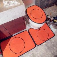 3шт коврик для дома Дизайнер туалетные колодки сиденья крышка сиденья радиатор крышка ванная комната ванны маты