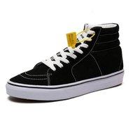 Classic High Square Nombre de la articulación Zapatos de lona Sneaker Hombres Mujeres Skateboard Cómodo Duradero Zapato plano Tamaño EUR35-44