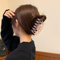 Çit Klip Kore Kafa Kelepçeleri Moda Basit Mizaç Büyük Saç-Klip Geri Retro Kıllı Köpekbalığı Chuck Sıçrama Kepçe Plaka Firkete Saç Aksesuarları Kadın Saç-Takı