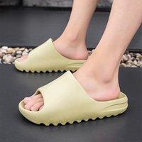 Coslony Pantoufles pour hommes Fashion Summer Couleur Solid Couleur Casual Home Slipper Chaussures Eva Non-Slip Plage Diapositives Douche