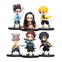 Figurines de Personnages de Dessin Animé Demon Slayer, Poupées à Modèle de Kimetsu No, Yaiba Posket, Tanjirou, Kamado Nezuko et agatsuma, 93
