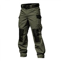 Men's Pants Men Military Tactical Cargo Army Green Combat Trousers Multi Pockets Gray Uniform Paintball Autumn Work Clothing