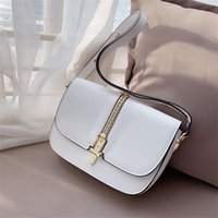 Shoulder Bags Summer High-end Female New Style Niche Design Explosion Wild Genuine Leather High Quality Favorite Underarm Small Elegant Square Messenger Bag