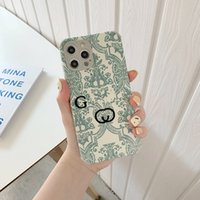 Phone Case Waterproof And Drop Resistant Designer Men Women Cute Luxury IPhone12 IPhone11 IPhone X Embroidered Phone Case D2109165HL