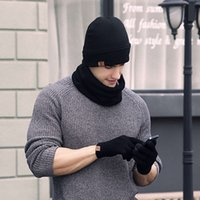 2021 new autumn and winter cold proof hat scarf gloves three piece set fashionable outdoor warm keeping W9DY
