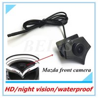 Car Rear View Cameras& Parking Sensors Auto CCD Vehicle Logo Camera Front Mark For 2 3 6 8 CX-7 CX-9 CX-5 CX5 CX7 CX9 Series